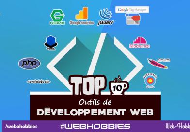 TOP 10 des outils developpement web