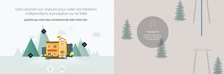 インスピレーションを得るための50の新しいシングルページウェブサイトのデザイン