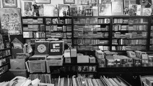 From The Beatles to Neil Young the stars that shone throughout the era of Rock music can be found this record store which is peculiar to itself