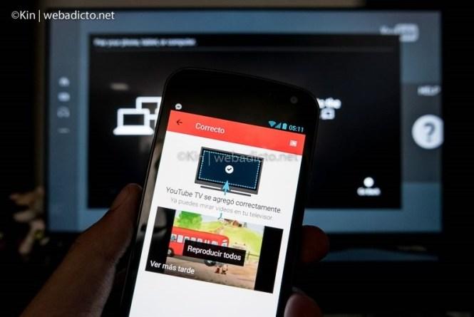 youtube tv controlar desde smartphone tablet pc-1050039