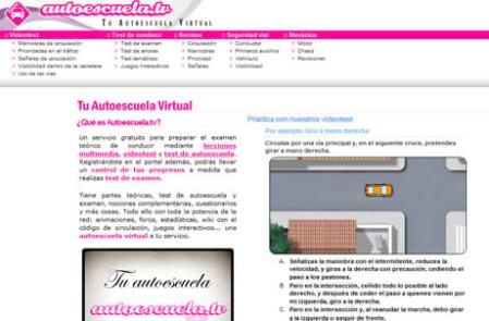 Escuela de manejo online, Autoescuela.tv