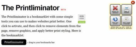 Imprimir lo necesario de un sitio con The Printliminator
