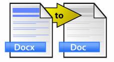 Convertir docx a doc en linea