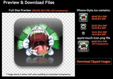 Crea tus propios iconos de iPhone y iPod Touch