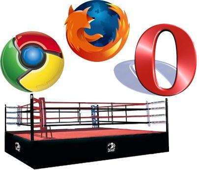 Opera se mofa de las pruebas de velocidad de Google Chrome