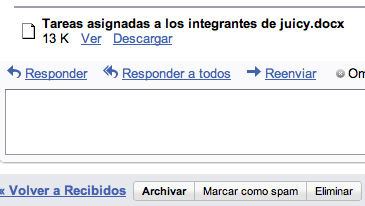 Gmail añade un visualizador de documentos de Word