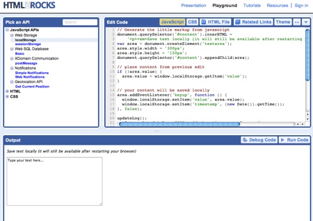 Demos de HTML5 hechos por Google