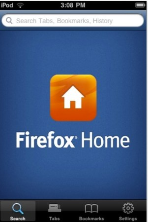 Firefox Home para iPhone disponible