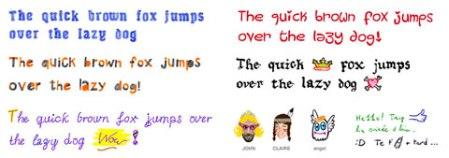 Fuentes divertidas en tus mensajes con Fontself