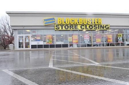 Blockbuster en quiebra