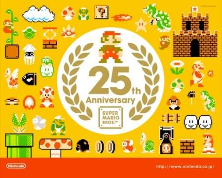 Wallpapers conmemorativos de Mario Bros