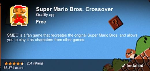 Super Mario Bros. Crossover Chrome Descarga Super Mario Bros. Crossover para Google Chrome