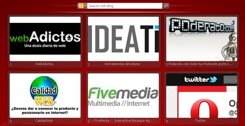 webadictos acceso rapido opera Opera 11.10 disponible para su descarga