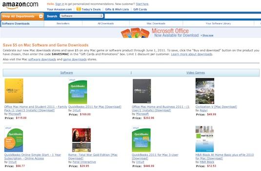 mac download store amazon Amazon lanza una tienda de aplicaciones para Mac OS X llamada Mac Download Store