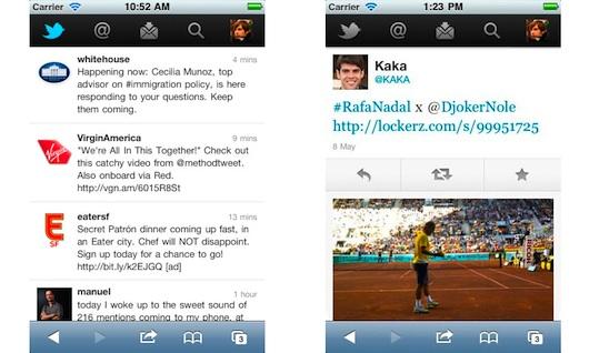 twitter mobile Twitter renueva su versión móvil