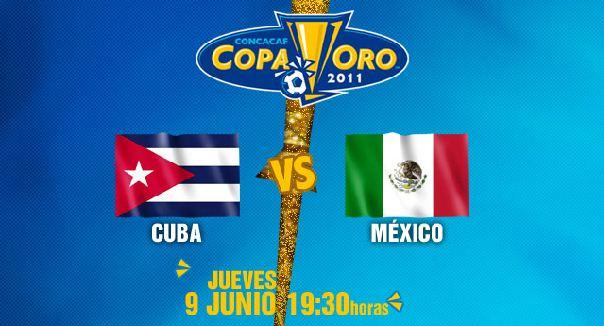 Mexico vs Cuba Mexico vs Cuba en vivo, Copa de Oro 2011