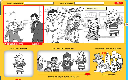 his Crear comics en Makebeliefscomix