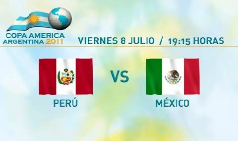 mexico peru en vivo copa america 2011 México vs Perú en vivo, Copa América 2011