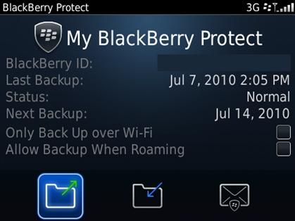 Protege la información de tu BlackBerry en caso de robo con BlackBerry Protect