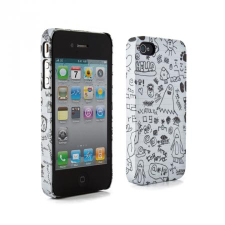 fundas iphone 4 garabato Fundas para iPhone 4 ideales para estudiantes