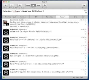 App preview 590x527 Yorufukurou, excelente cliente de Twitter para Mac