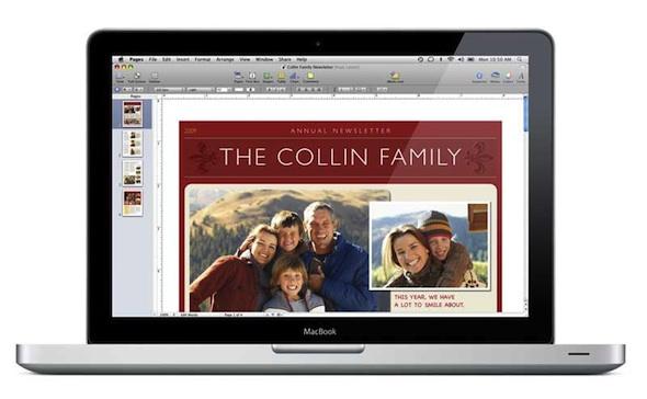 Pages para Mac Pages, un potente procesador de texto para Mac