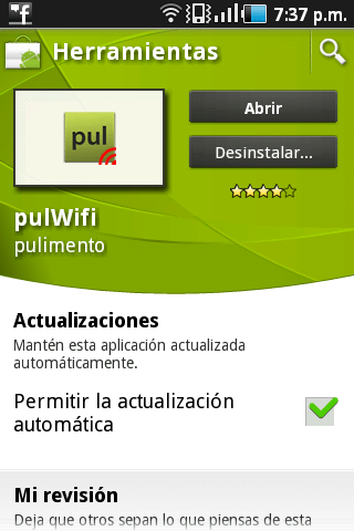 Pull WIFI Obtener claves Wifi para Android