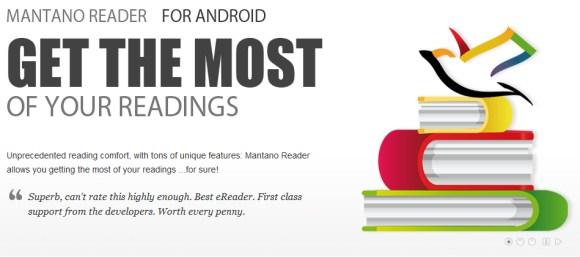 mantano reader Tus libros y novelas con Mantano Reader para Android