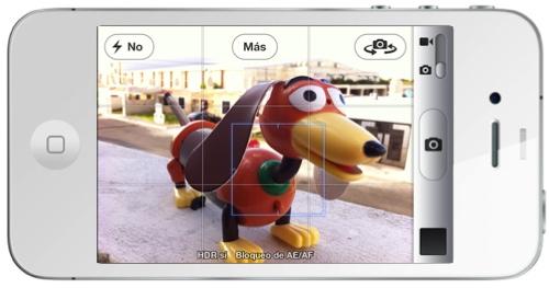 enfoque iphone1 iOS 5: Como aprovechar la mejoras de la cámara en tu iPhone