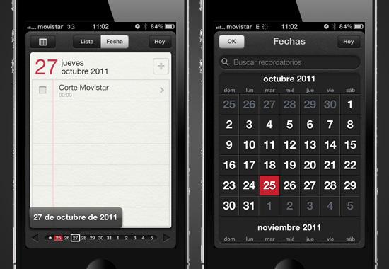 reminders usabilidad 3 Que nada se te olvide con Recordatorios para iOS 5 [Reseña]