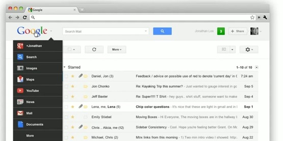 Google bar look Google presenta su nueva Google Bar