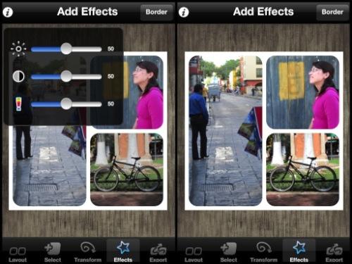 diptic ajustes Diptic para iPhone y iPad, una increíble aplicación para crear imágenes fantásticas [Reseña]