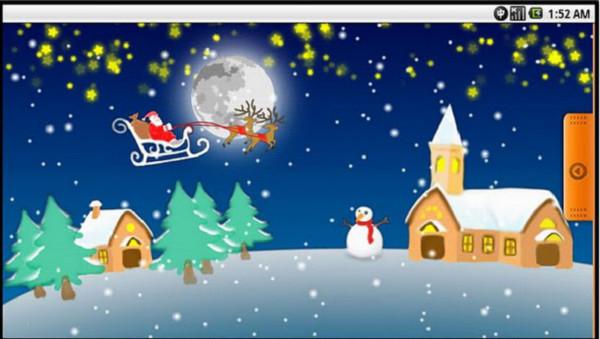 christmas live wallpaper lite Colección de Live Wallpapers navideños para Android