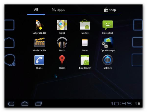 honeycomb apps Probar Android 3.2 Honeycomb desde una máquina virtual
