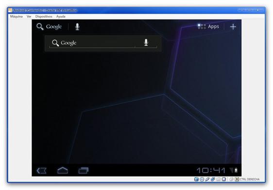 honeycomb pc Probar Android 3.2 Honeycomb desde una máquina virtual
