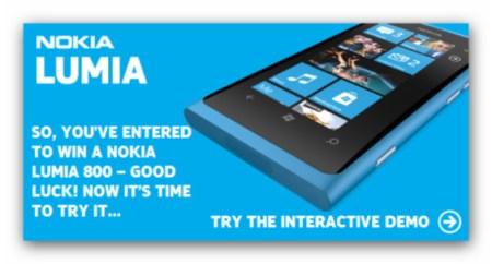 Nokia lanza un concurso en el que te podrás ganar un Lumia 800