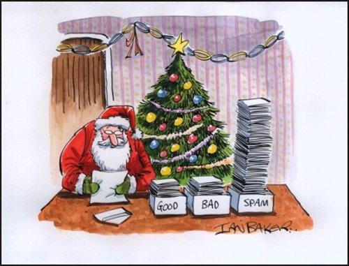 santa claus spam Los mejores gadgets para regalar en esta Navidad [Parte 2]