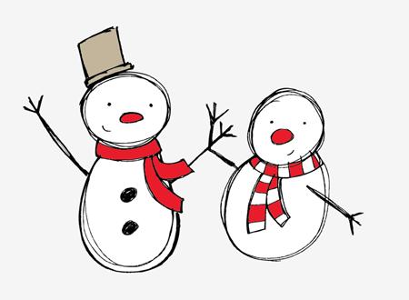 vectores navidad Colección de vectores de Navidad para tus diseños