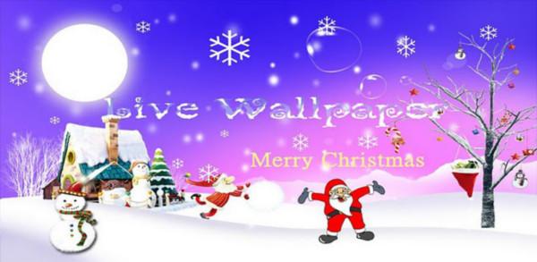white christmas live wallpaper Colección de Live Wallpapers navideños para Android