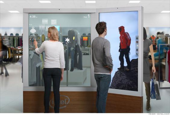 intel AIM Intel trabaja con tiendas minoristas como Macys para transformar la experiencia de compra
