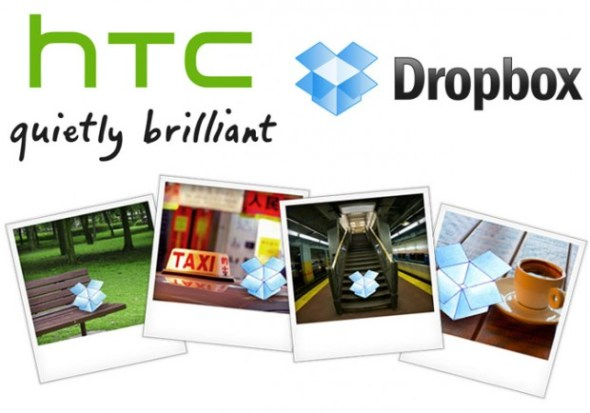 HTC DropBox 590x413 HTC regala 25 GB en Dropbox a los usuarios de HTC Sense 4.0