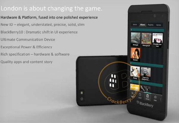 blackberry london BlackBerry London, la apuesta de RIM para recuperar terreno en el mercado