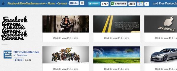 facebook timeline banner Personalizar tu biografía en Facebook con estos excelentes sitios