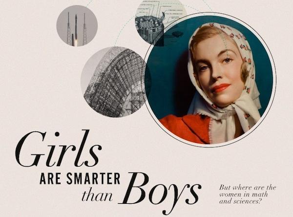 Mujeres mas inteligentes Las mujeres son más inteligentes que los hombres [Infografía]