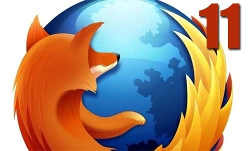 Mozilla Firefox 11 disponible oficialmente para descargar