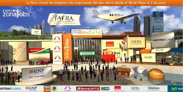 Expo ZonaJobs Expo ZonaJobs 2012, segunda edición de la feria virtual de empleos