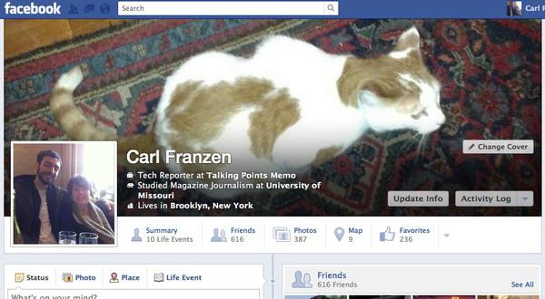 Facebook timeline new Facebook estaría probando un rediseño de su Biografía