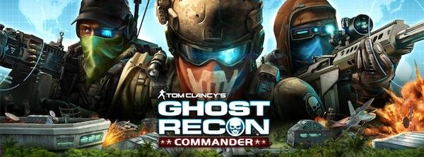 Juego Ghost Recon Commander llega a Facebook