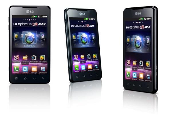 Optimus 3D Max 1 590x404 LG lanza la serie L de smartphones con procesadores Qualcomm