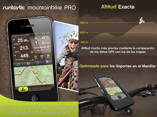 Runtastic mountain bike pro Runtastic MountainBike Pro, la aplicación por excelencia para los ciclistas gratis por tiempo limitado